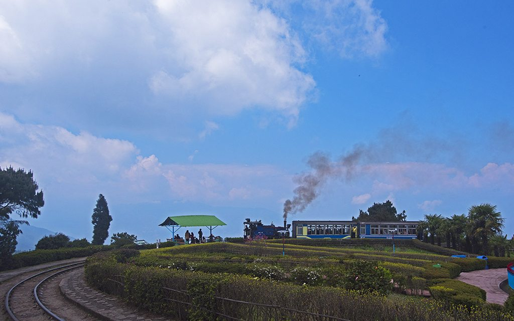 Toy train Darjeeling West Bengal