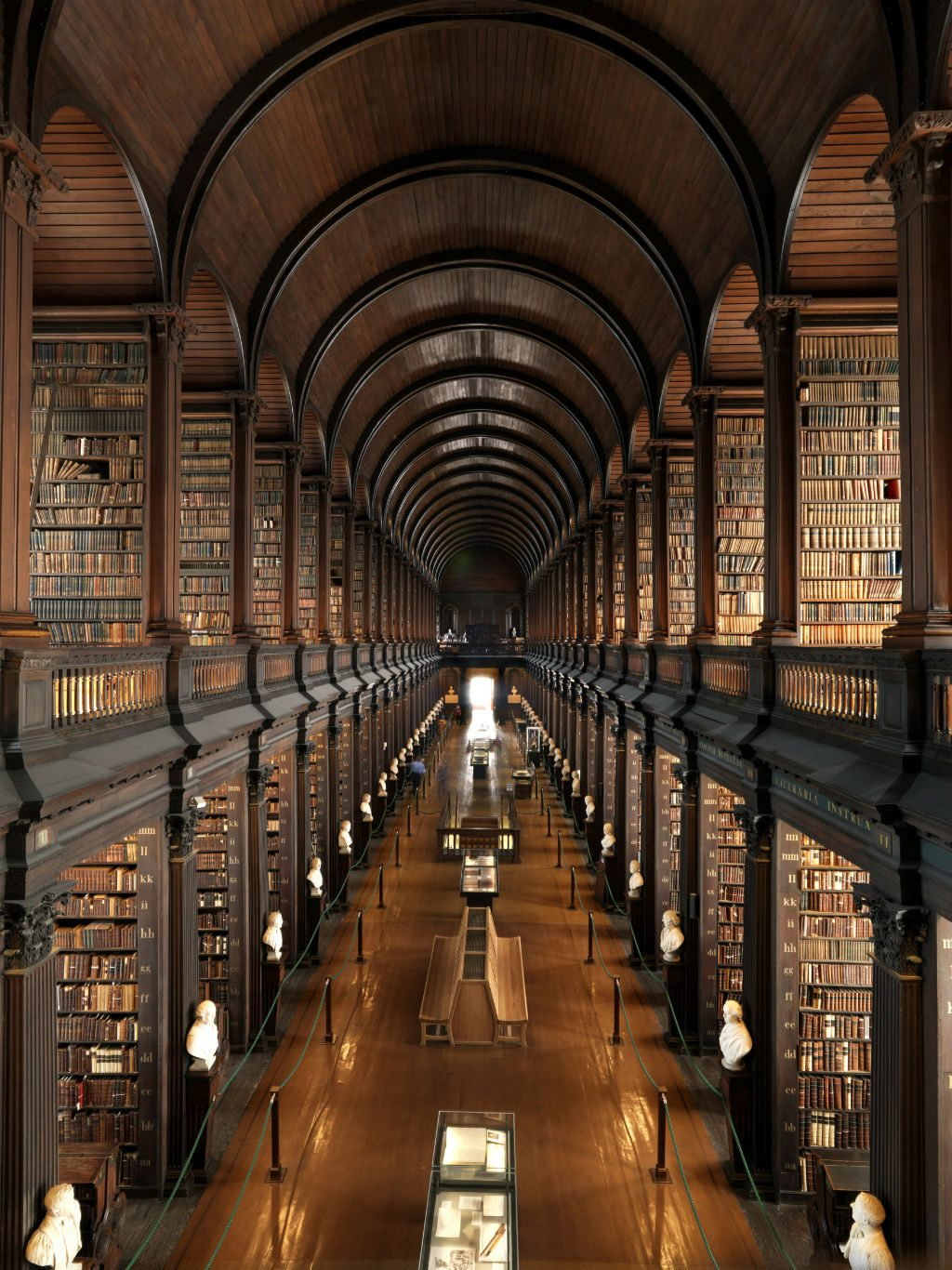 Trinity College Library in Dublin for Airbnb