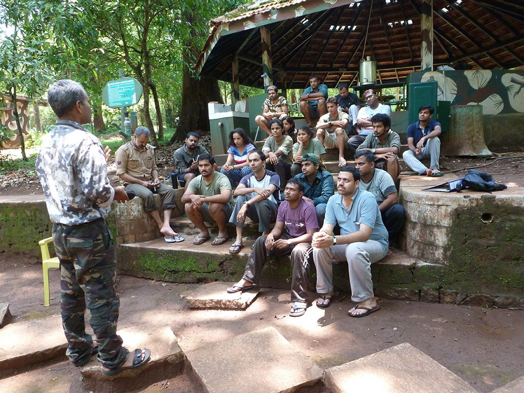 Traning Volunteer Wildlife