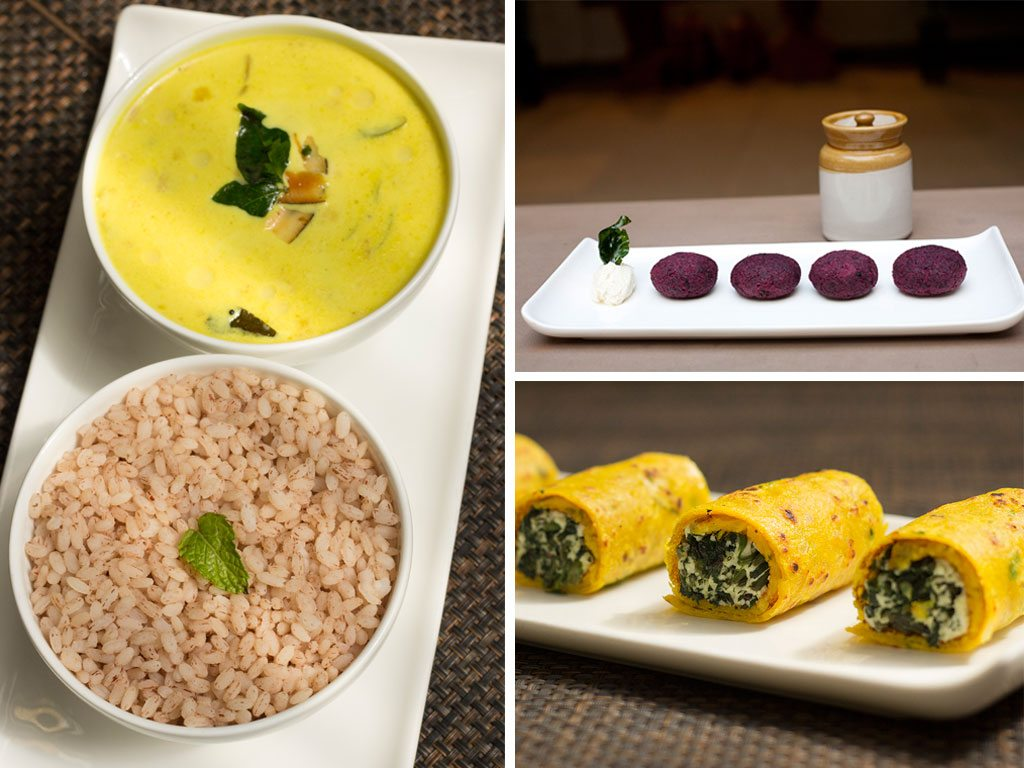 Café Lota puts regional Indian food in the spotlight. Stop by for a snack, a cup of coffee sourced from plantation in Karnataka, or a full meal; the café is open all day. Photos: Paroma Mukherjee (left and bottom right), Anirban Dutta (top right)