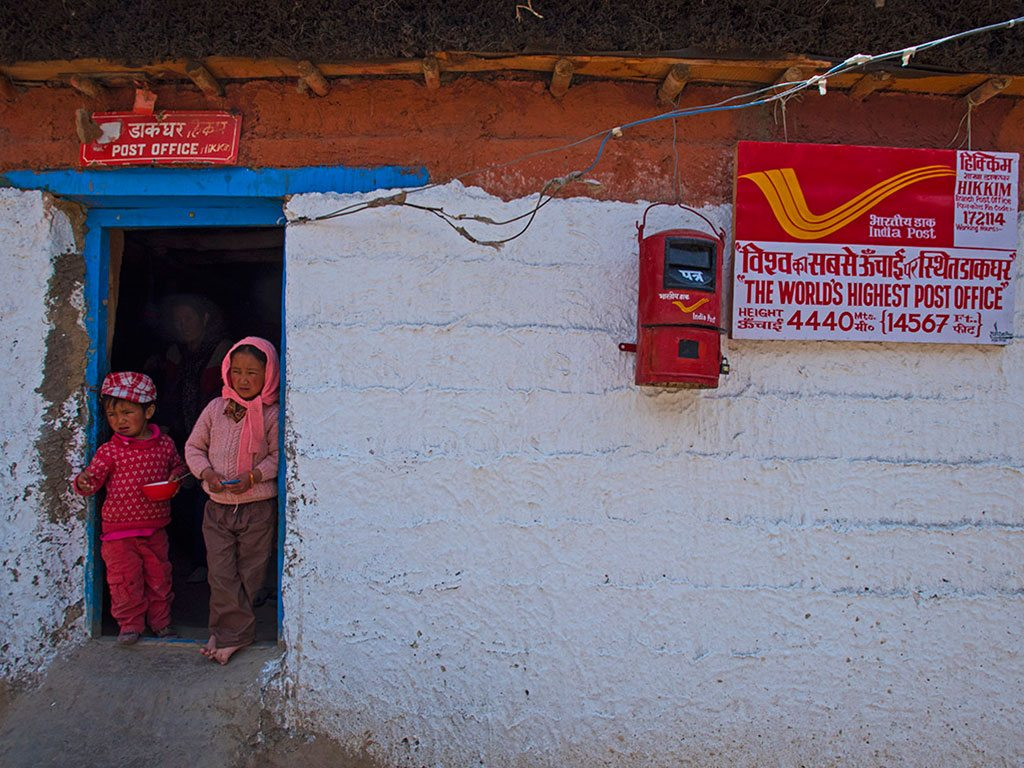 Hikkim Post Office Spiti Ladakh