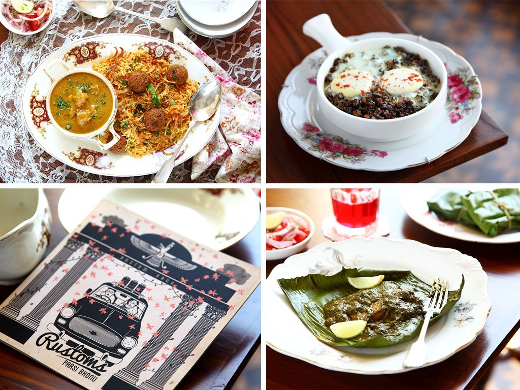 Rustom's serves up home-style Parsi cuisine in a setting designed to look like an old-fashioned Parsi home in Mumbai. Don't miss the portraits on the wall (or the top-notch patrani macchi, fish slathered in green chutney and steamed in a banana leaf). Photos: Prateeksh Mehra