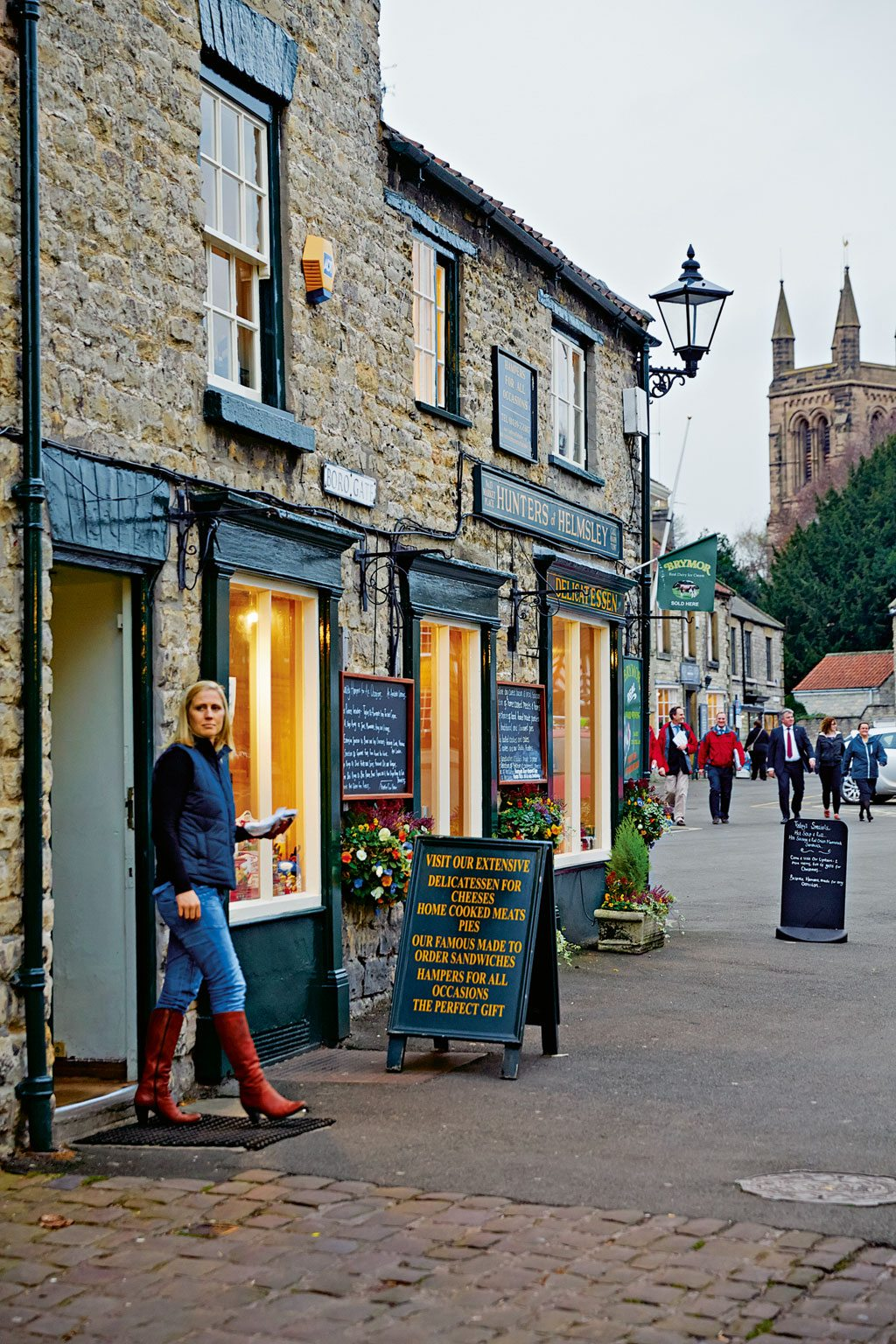 Market Town England Helmsley
