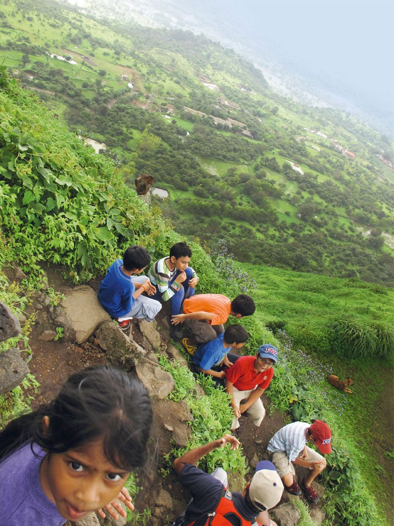 The monsoons are a great time to take children hiking in the hills. Photo: André Morris
