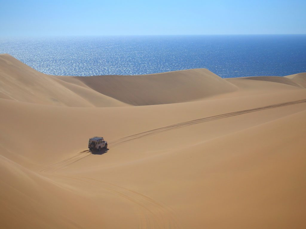 sand dunes in namibia, photo by Shubhashish Beura