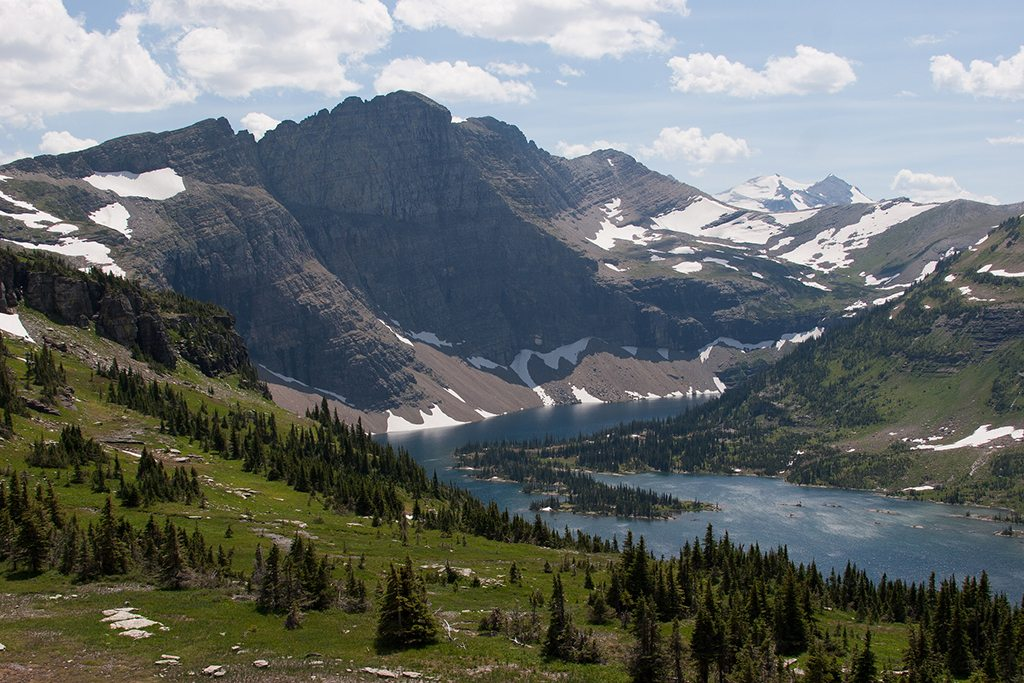 The Glacier National Park in Montana once consisted of about 150 ice sheets. Photo: Emily Hildebrand/Flickr/Creative Commons (bit.ly/1jxQJMa)
