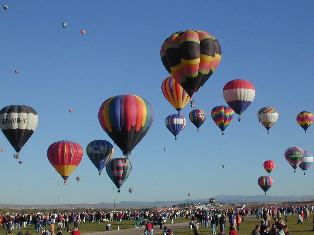Hot-Air Balloon Festival, Mexico