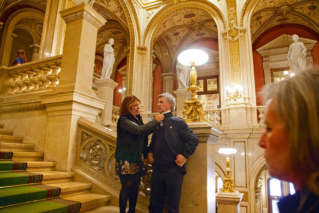 Vienna State Opera hosts great productions like the recent Don Giovanni that draw viewers from around Europe. The best seats are often sold out months in advance. Photo: Anshika Varma