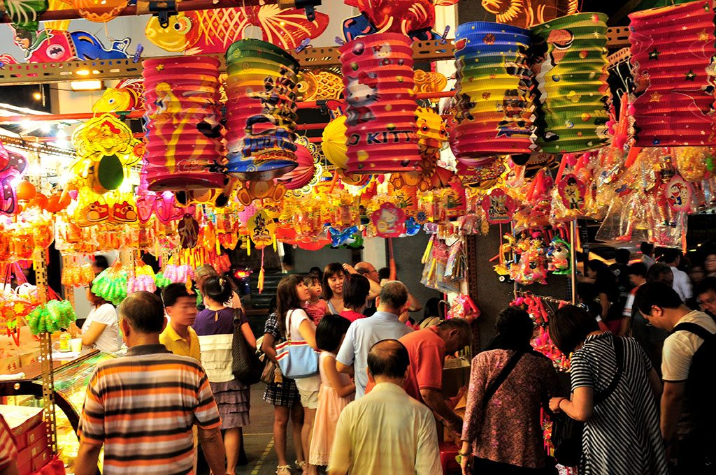 Mid-Autumn Festival Chinatown Singapore