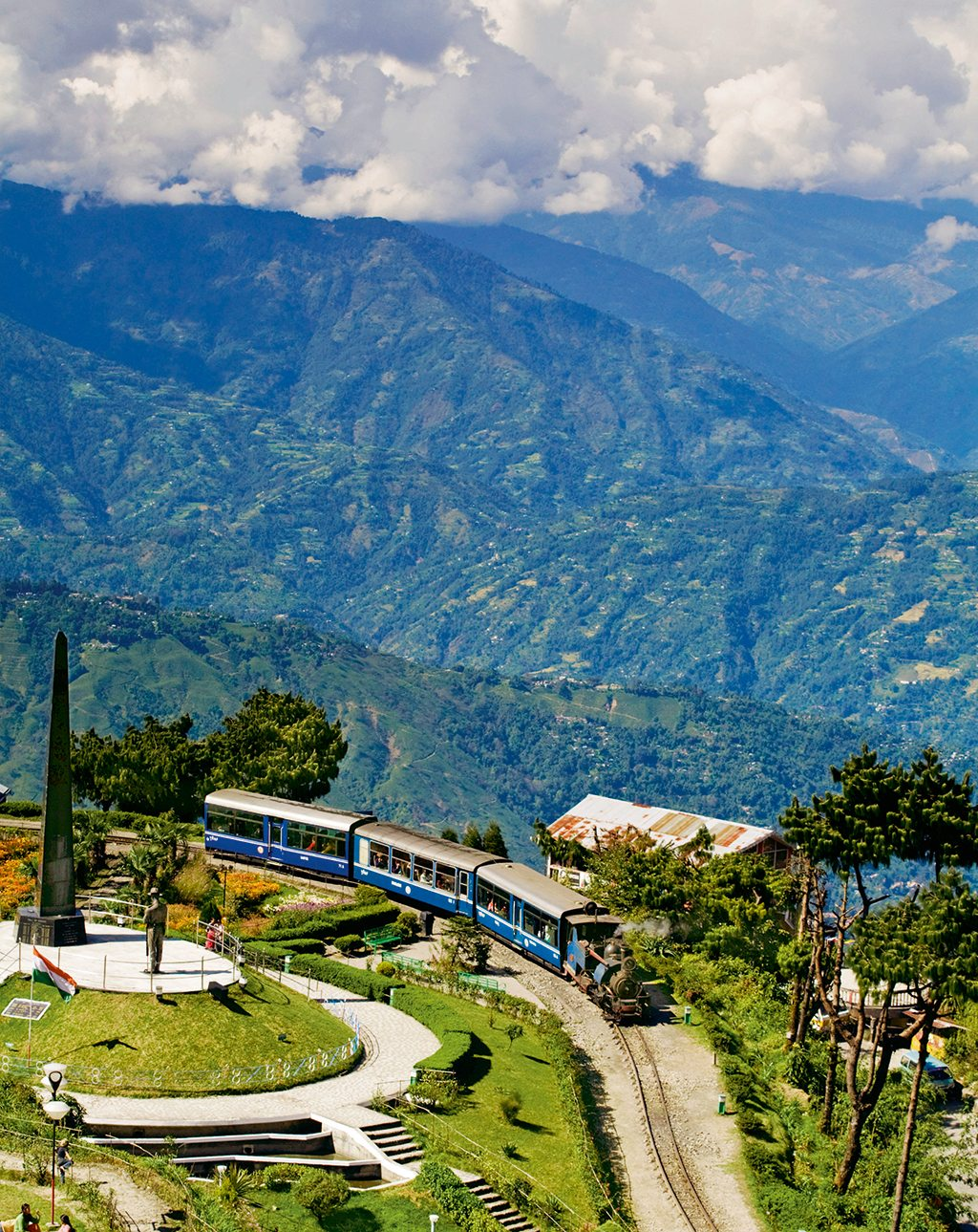 The Darjeeling Himalayan Railway, West Bengal