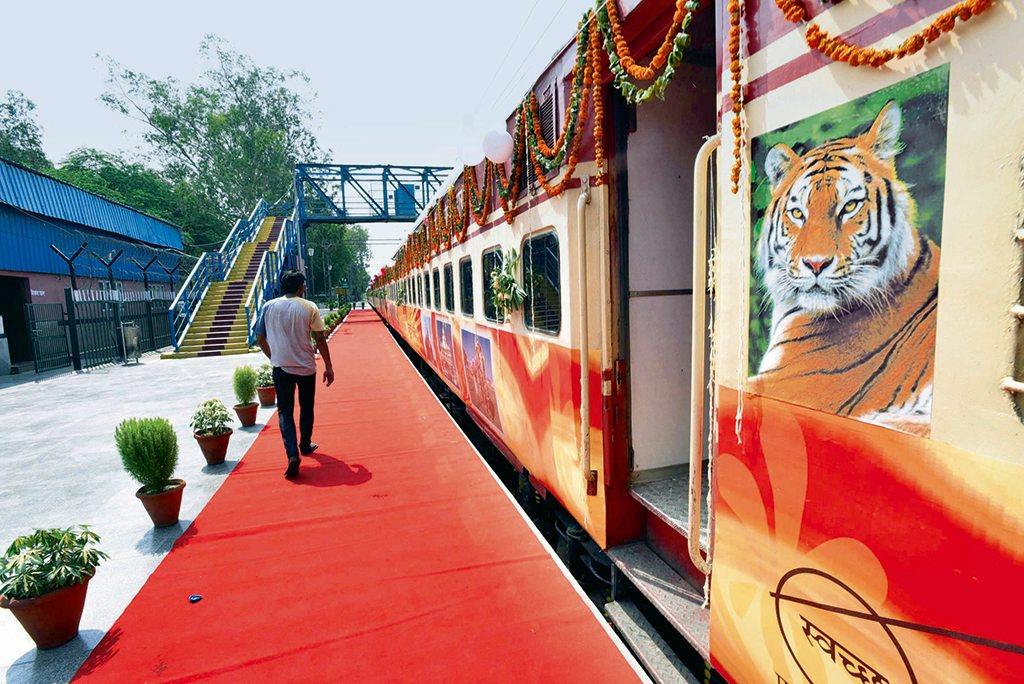 Tiger Express. Photo: Photo courtesy: Hindustan Times/Contributor/Getty Images