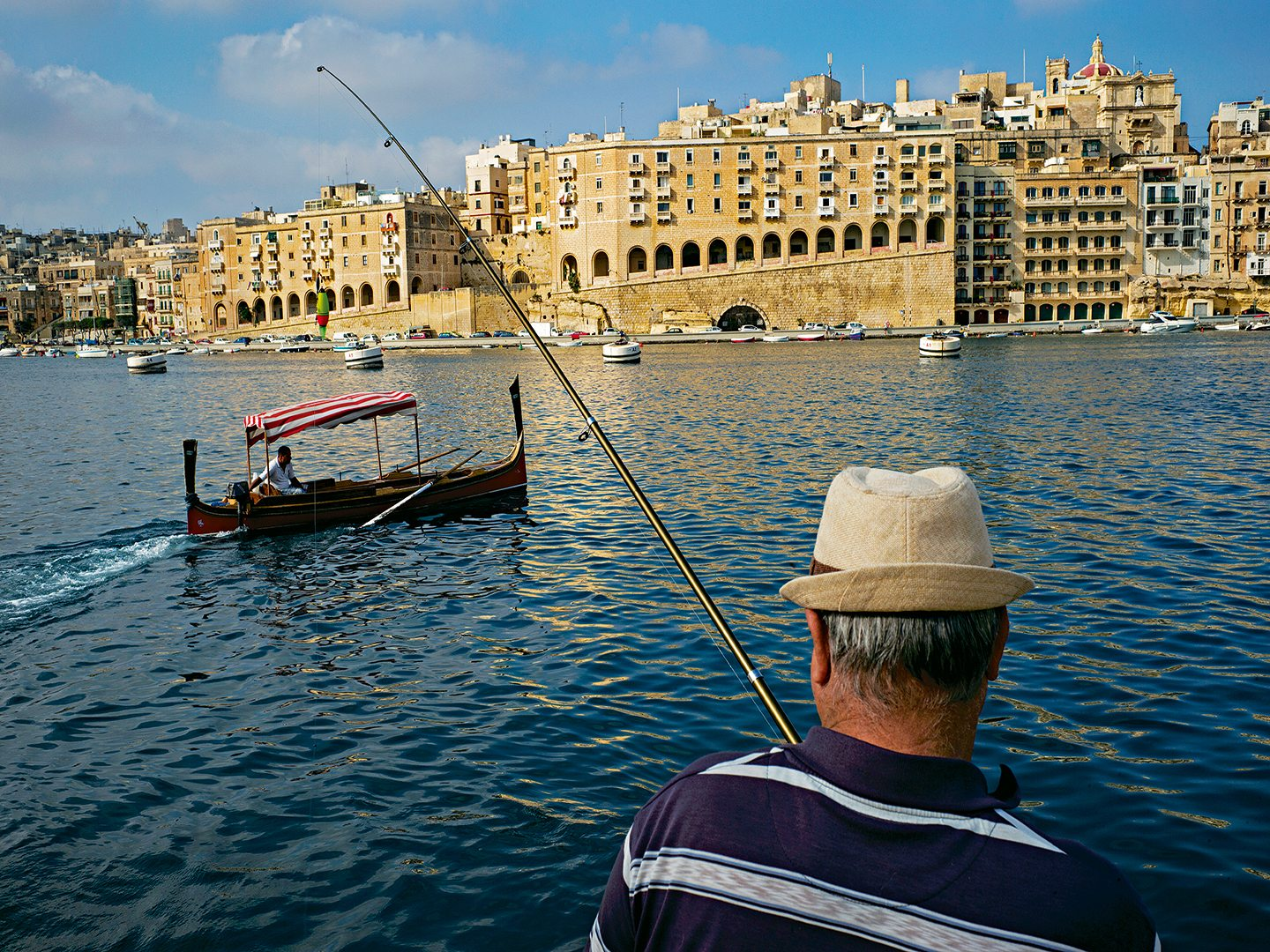 angler, valletta, malta, photo by Alex Webb