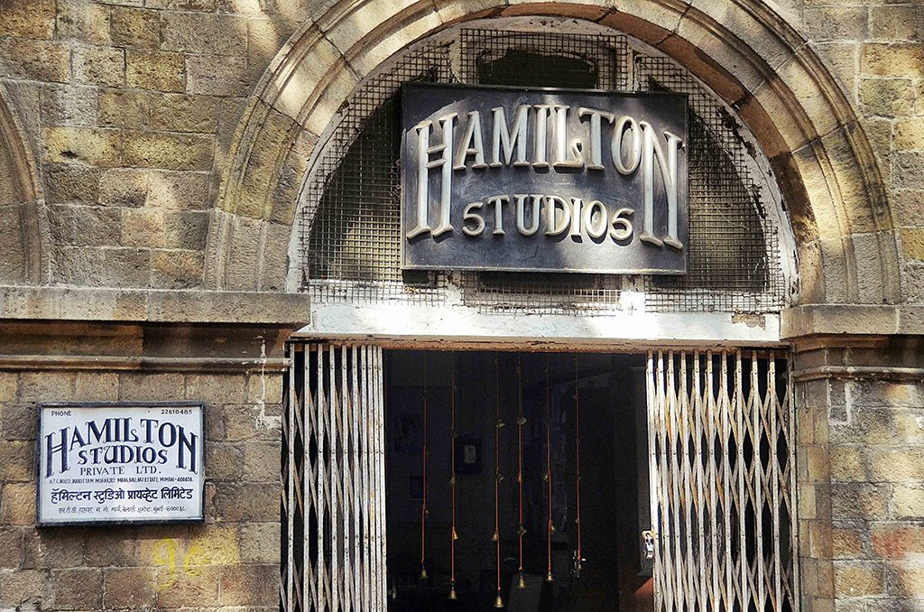 The still-functioning Hamilton Studios, tucked away in a lane in Ballard Estate, opened its doors in 1928 and was the official photo studio of the State of Bombay. Some stories speak of red carpets running from the studio to the main street to welcome royal patrons. Photo: Sharrell Cook