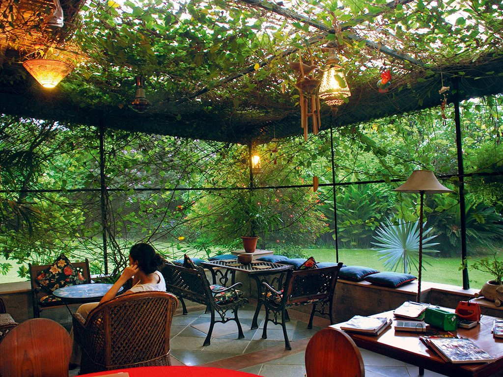 Garden room, Homestead, photo by Shikha Tripathi