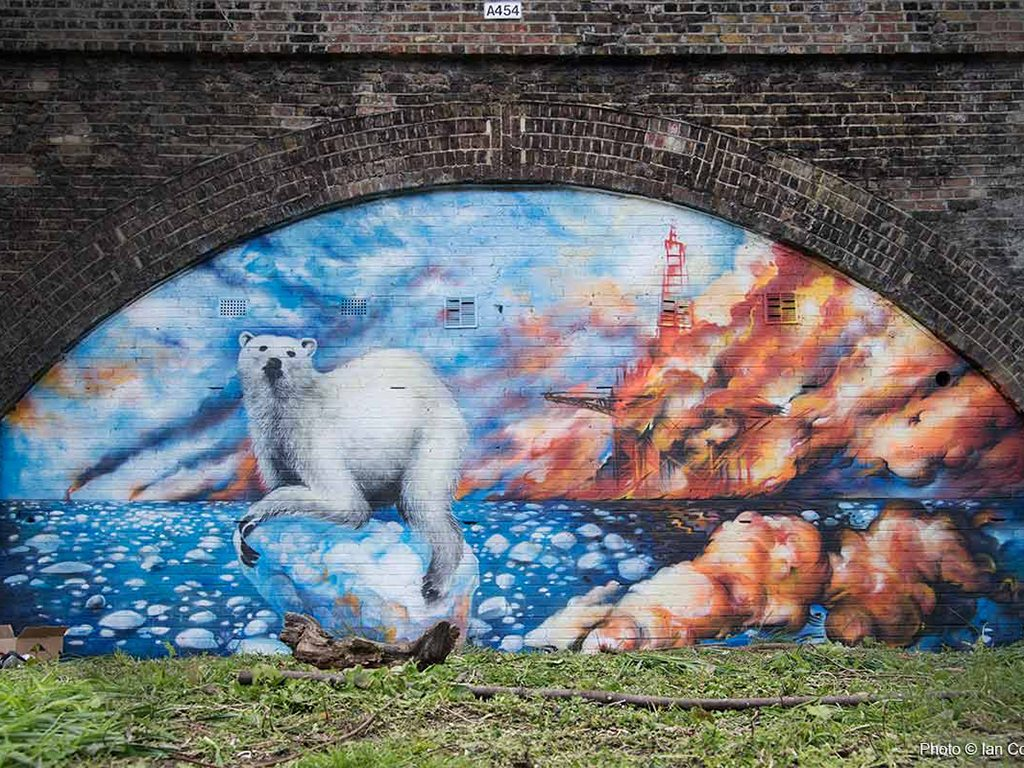 Polar Bear by Jim Vision, Photo: Ian Cox