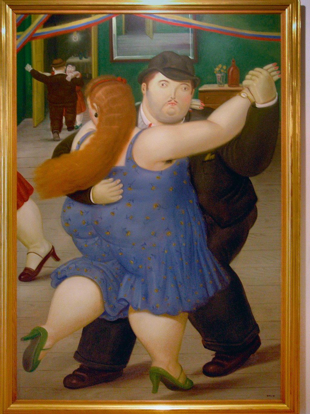 Works by Colombian artist Fernando Botero draw crowds to Bogotá's Botero Museum. Photo: Mark Green/Alamy/Indiapicture