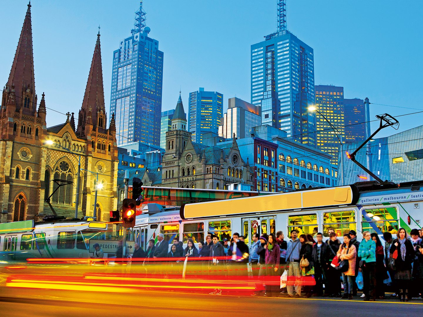 Trams Melbourne