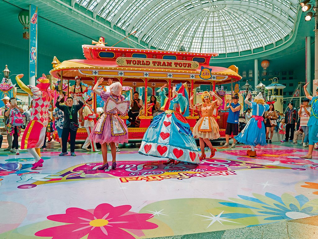 Everyday is a carnival at Lotte World. Photo: MEzairi/shutterstock