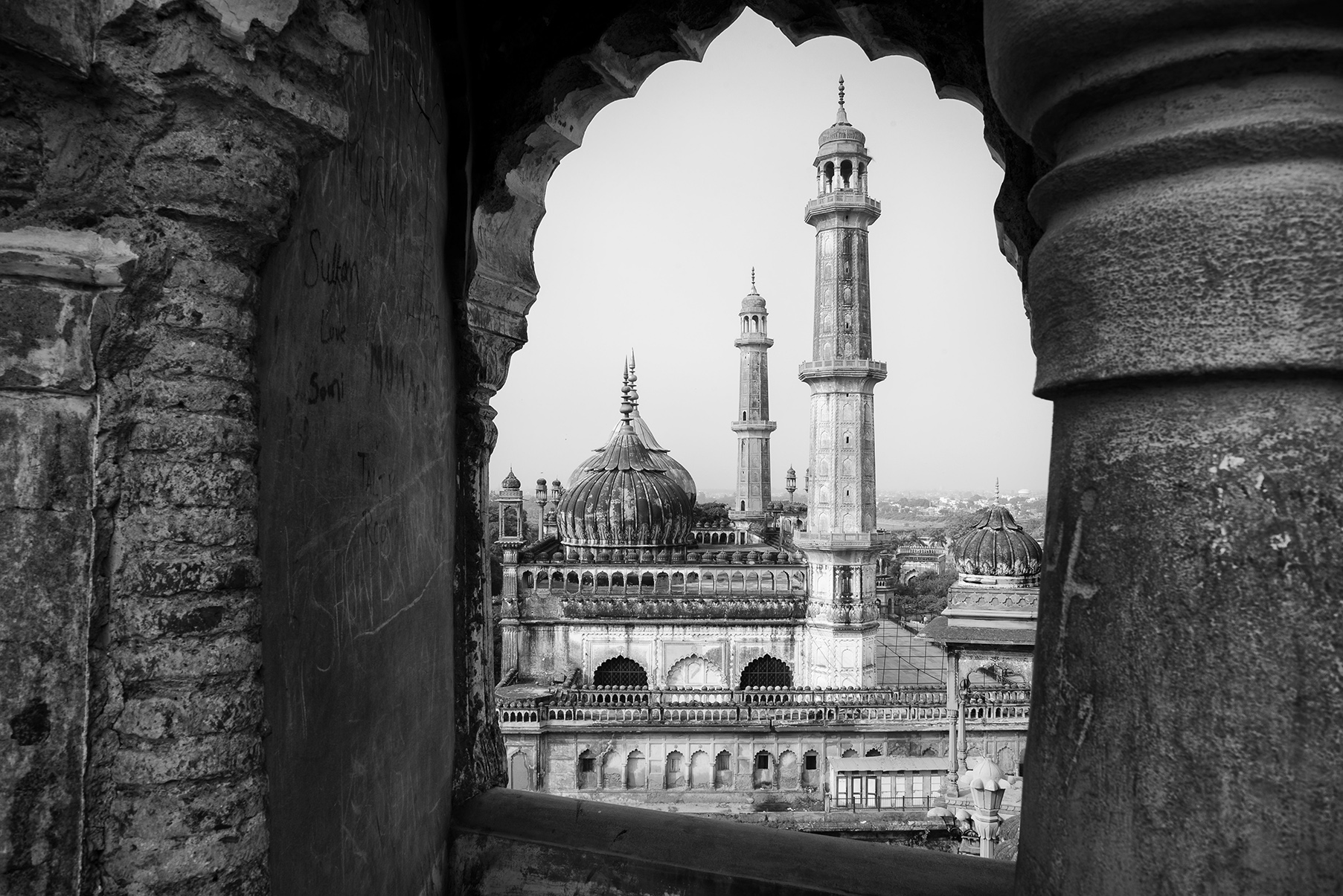 Lucknow's beautiful Bara Imambara was commissioned by Nawab Asaf-ud-Daula in 1784 to create employment in his famine-struck kingdom.
