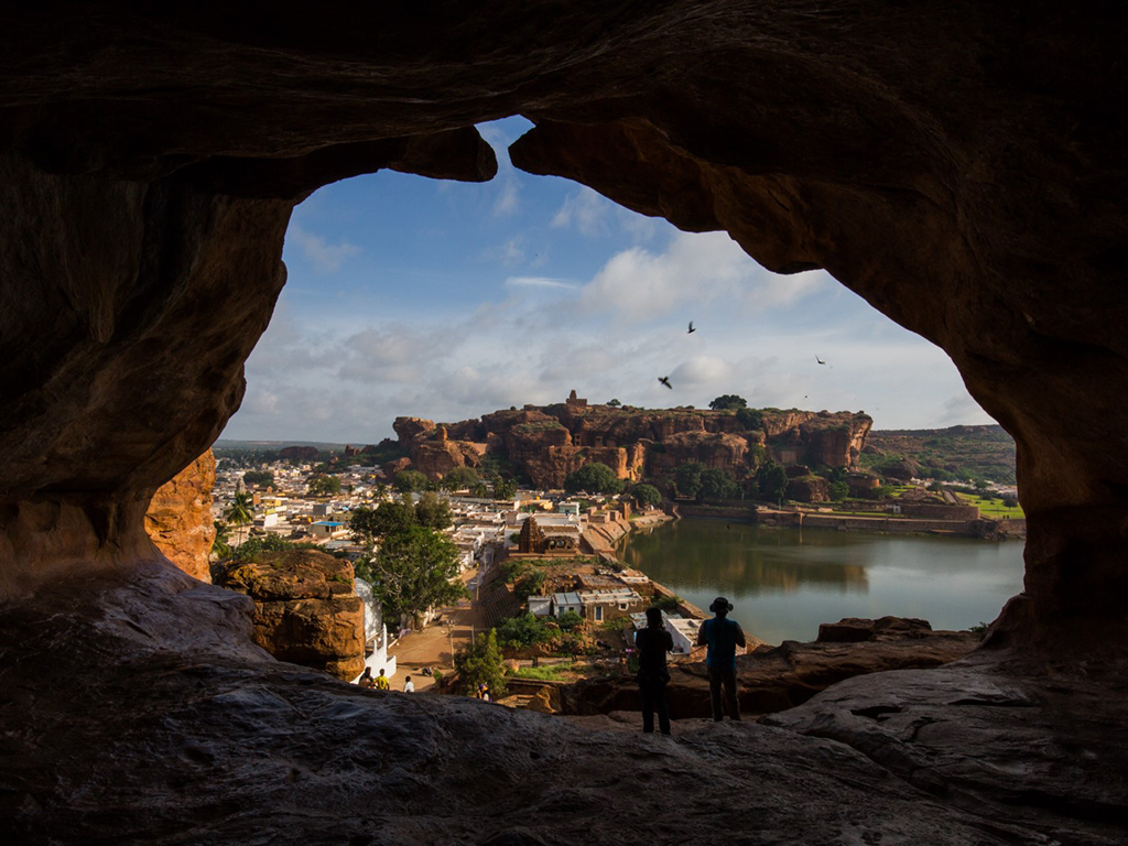 Badami may not be as popular as nearby Hampi, but its rugged rock faces and caves attract climbers and adrenaline junkies from around the world.