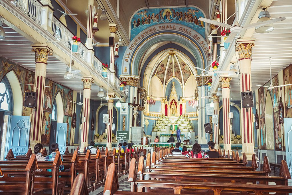 mount mary church bandra mumbai