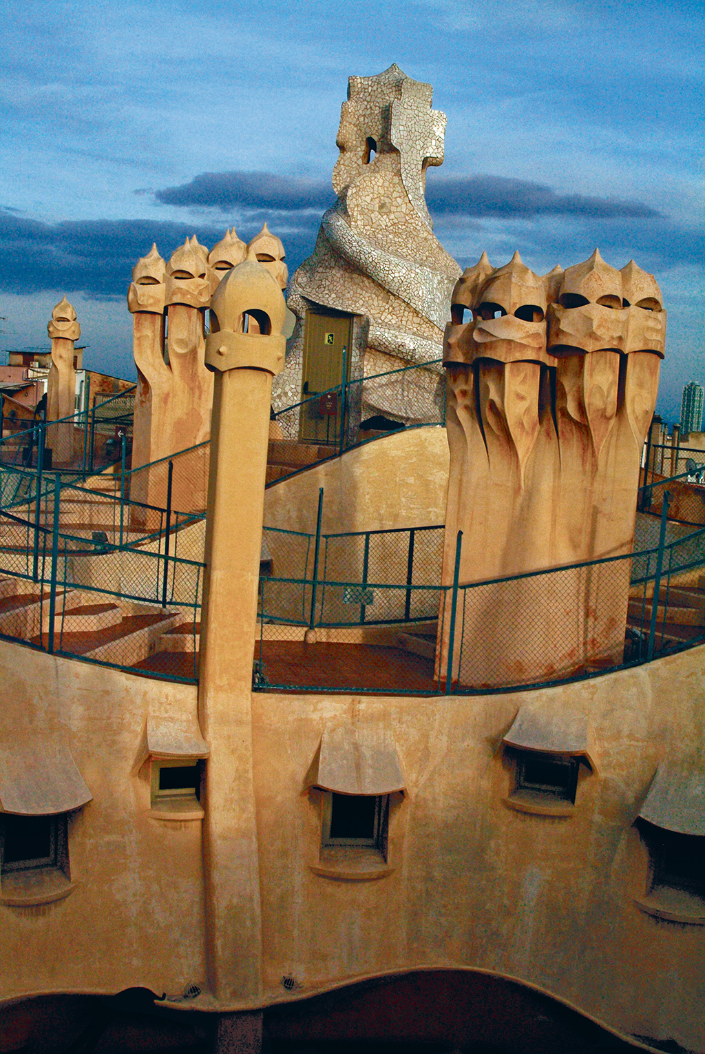 Chimneys Barcelona Spain