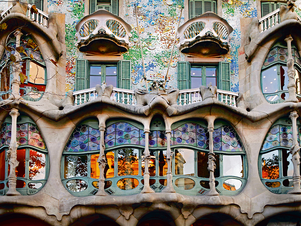 All Roads Lead to Gaudi Surreal for Breakfast Lunch and
