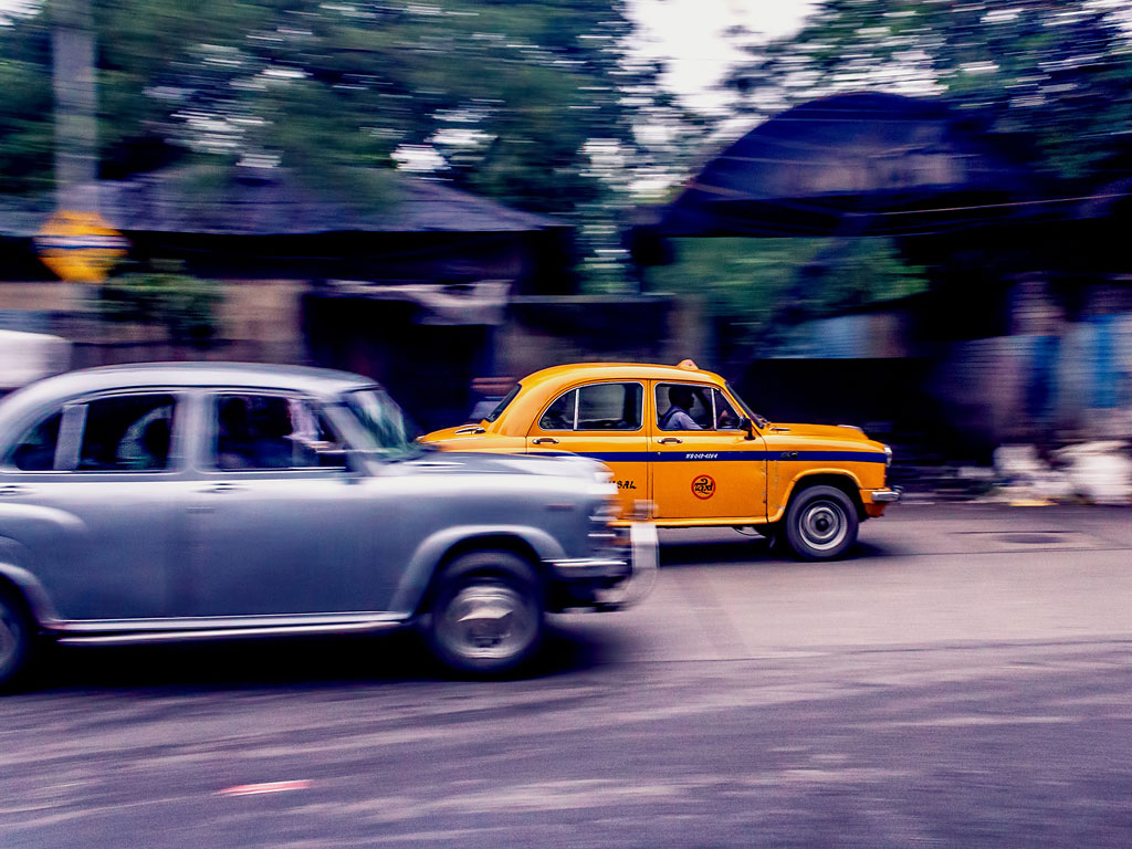 Why are Kolkata's taxis yellow? Precisely so they can be swiftly noticed by travellers.