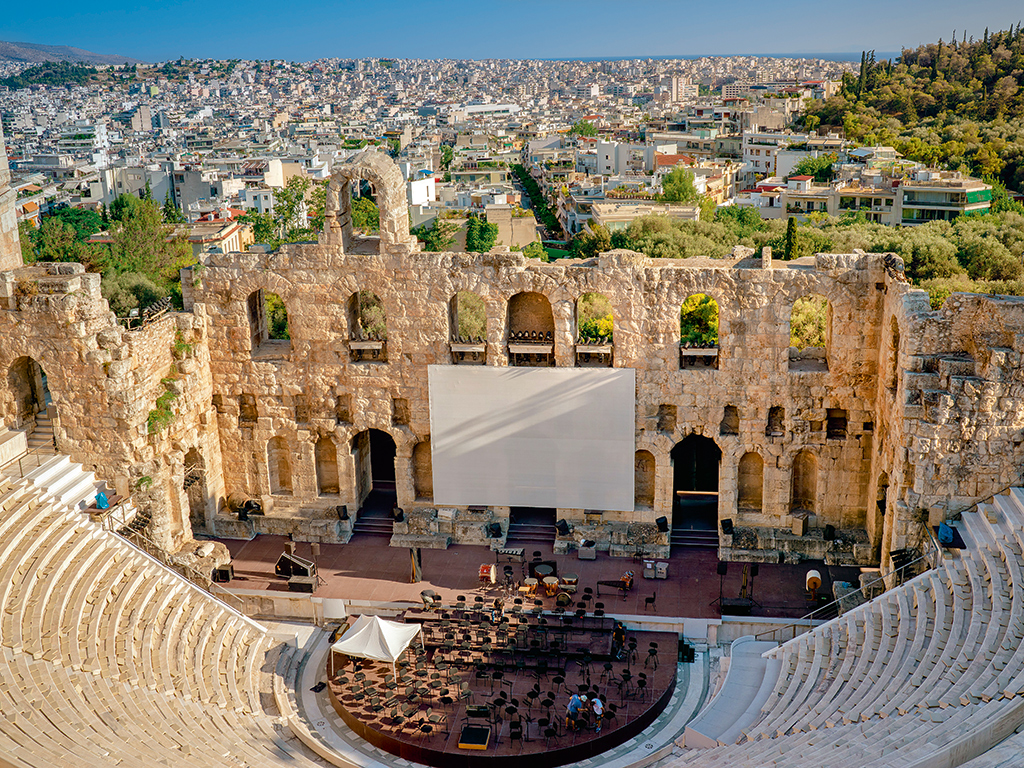 Odeon amphitheatre Greece