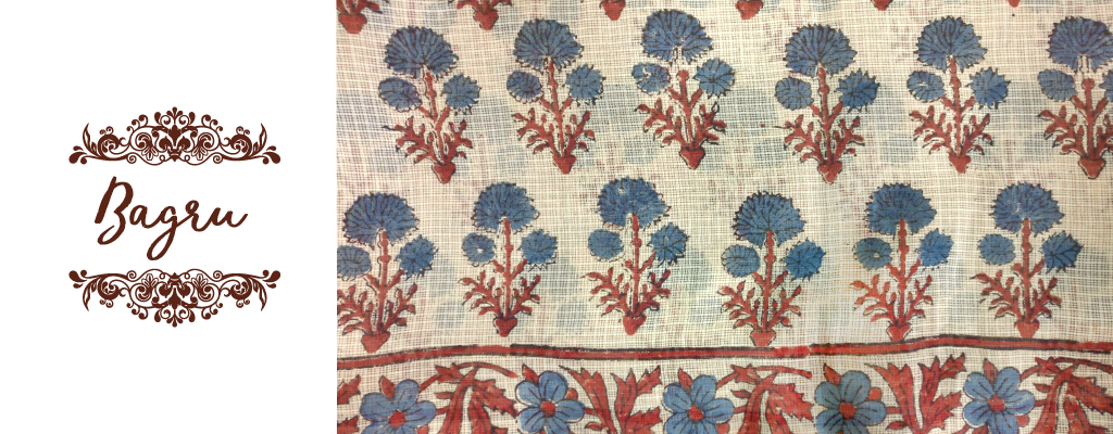 Bagru fabric Rajasthan India