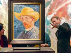 Self portrait of Vincent Van Gogh, Amsterdam