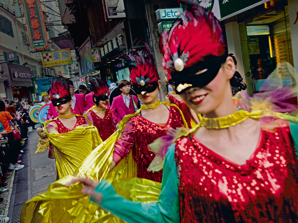 Latin City parade, Macao