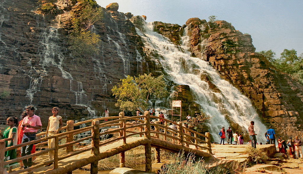 Tirathgarh Waterfall