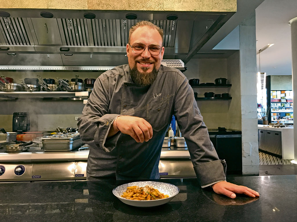 Chef Alex Moser and the Art of Constant Arrival