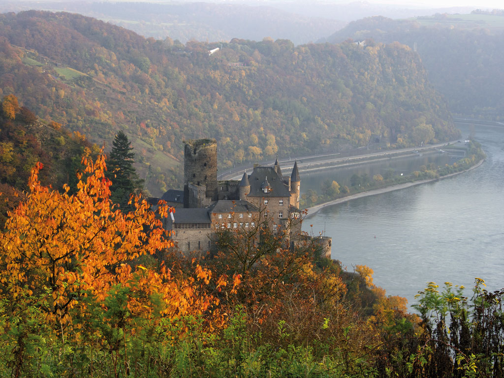 The Rhine River is famous for fairy-tale castles, imposing fortresses and jaw-dropping scenery. Photo Courtesy: Germany Tourism