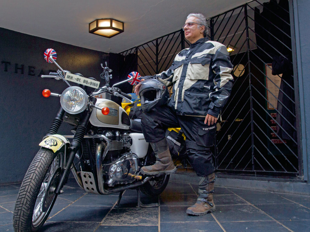 For the past seven years, Aditya Raj Kapoor's Royal Enfield has been his trusty companion on his travels across the country. Photo by Tunali Mukherjee.