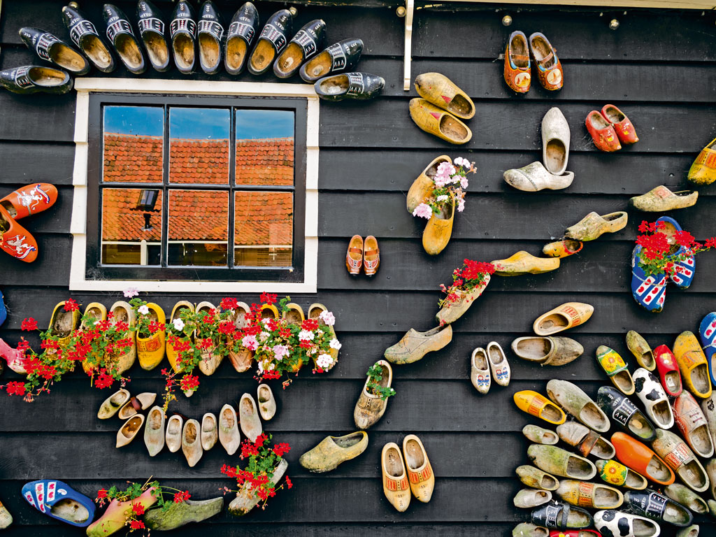 clogs in Zaanse Schans