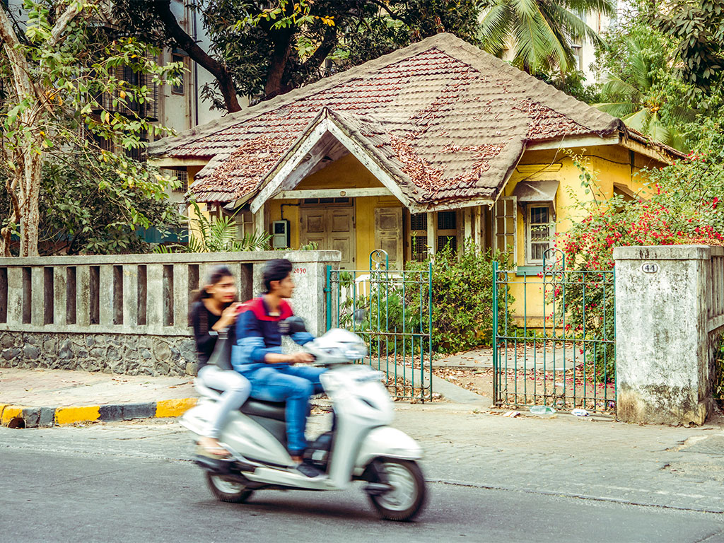 Houses in Bandra, Mumbai