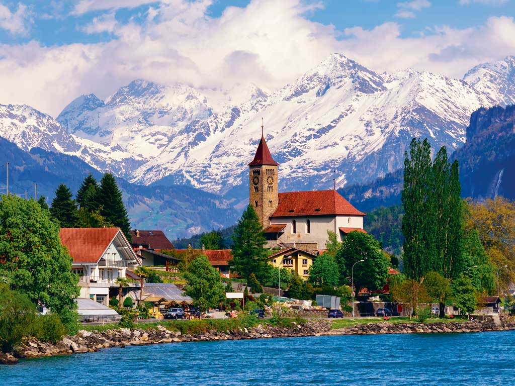 "Switzerland is another favourite destination of Bajaj's. ""The whole country is so picturesque and the people are highly disciplined,"" he says. Photo by Boris Stroujko/Shutterstock."