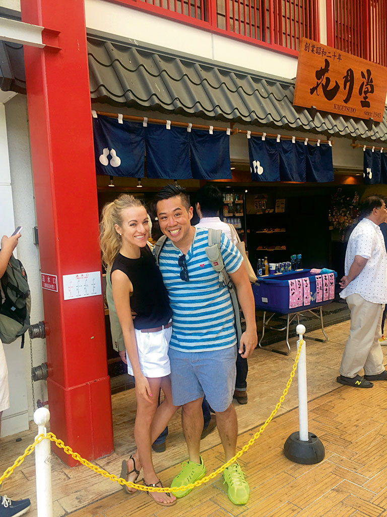 Cheung and his wife, Andrea, gravitate to local haunts like Kyoto's Shinkyogoku Shopping Arcade, lined with shops selling kimonos and pickles, and stalls dishing out sushi. Photo Courtesy: Kelvin Cheung