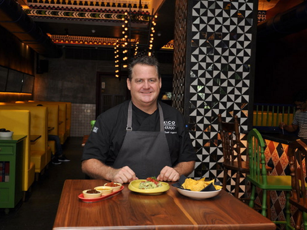 The menu of chef Scott Linquist's Mexican restaurant XICO, which opened today in Mumbai's Kamala Mills, is inspired from his trips to Mexico—some of them month-long and each undertaken to hunt down the best local foods. Photo Courtesy: Scott Linquist