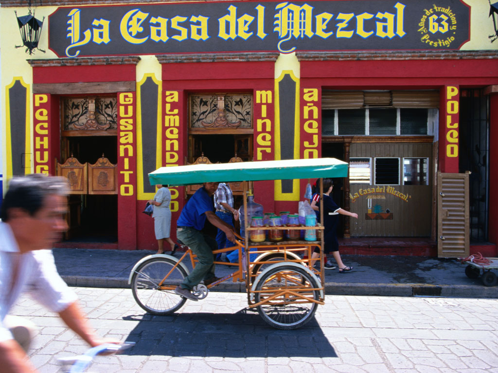 Mezcal, touted as the 'mother of tequila', comes from Oaxaca, a city that's considered Mexico's culinary mecca. Photography by: Greg Elms/Getty Images