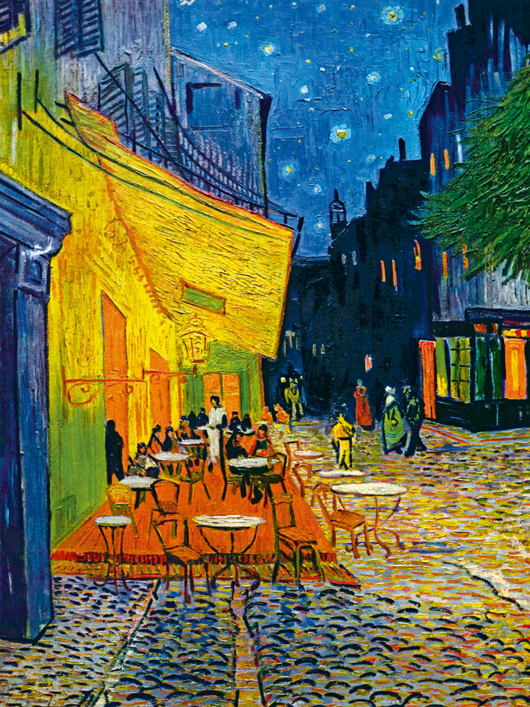 "Van Gogh's ""Cafe Terrace at Night"". Photo by: Universal History Archive/Contributor/Getty Images"