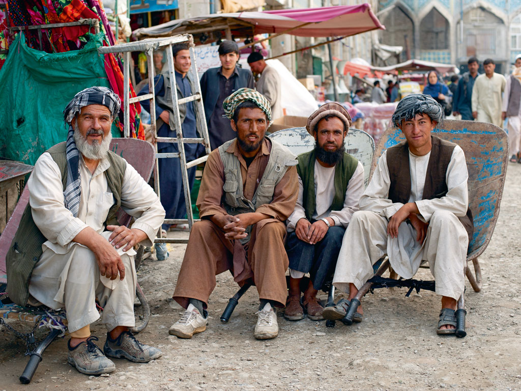 Having visited Afghanistan as a documentary filmmaker, Khan filmed the autobiographical Kabul Express there. Photo by: Alex Treadway/Robert Harding/Getty Images