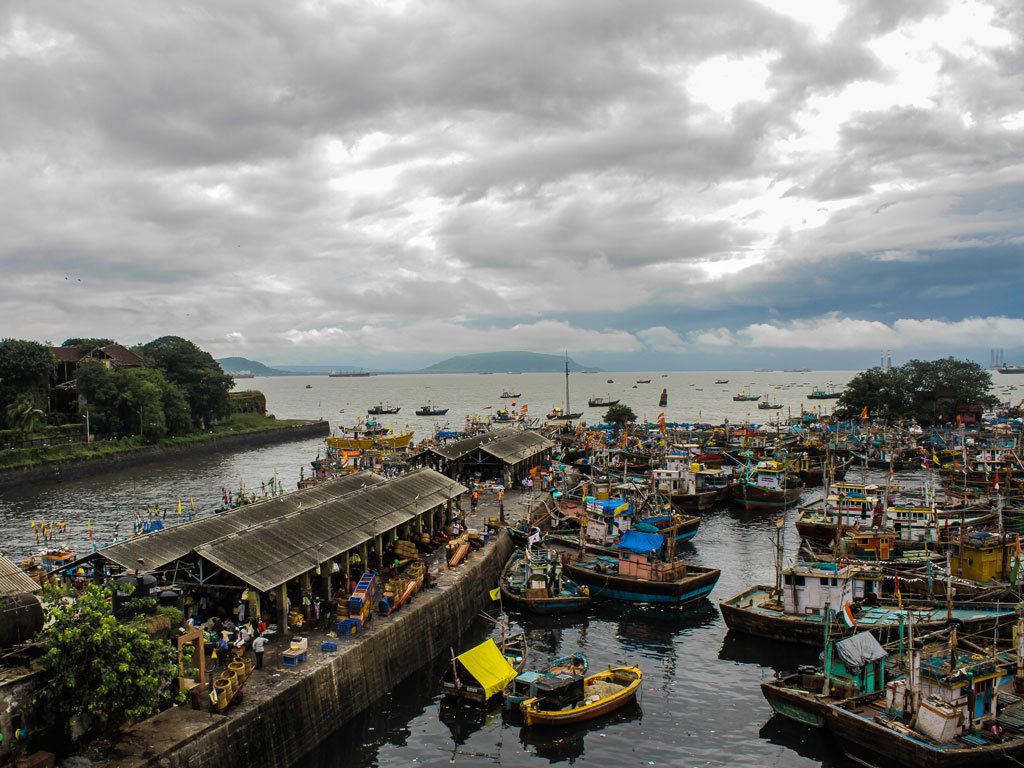 Sassoon Docks is always buzzing with fishermen and women, with the fish market open to all. Photo by Pranav Gohil.