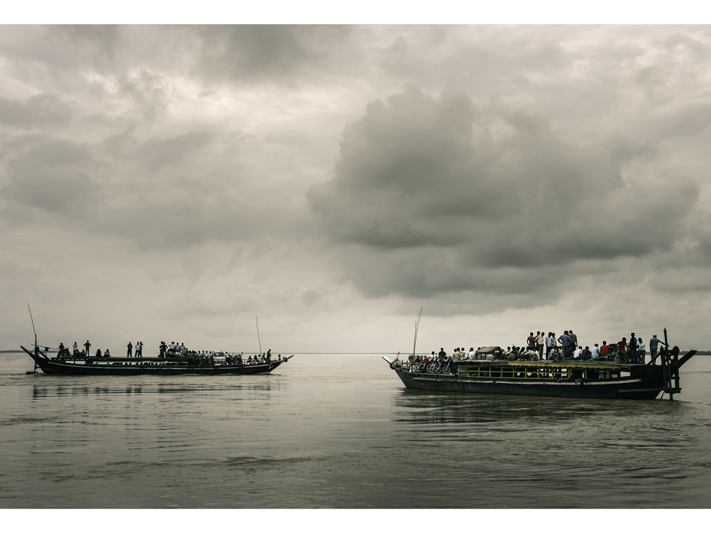 A direct transfer by ferry from Jorhat is the safest route to Majuli. Photo by Daniel J. Rao/Shutterstock.com.
