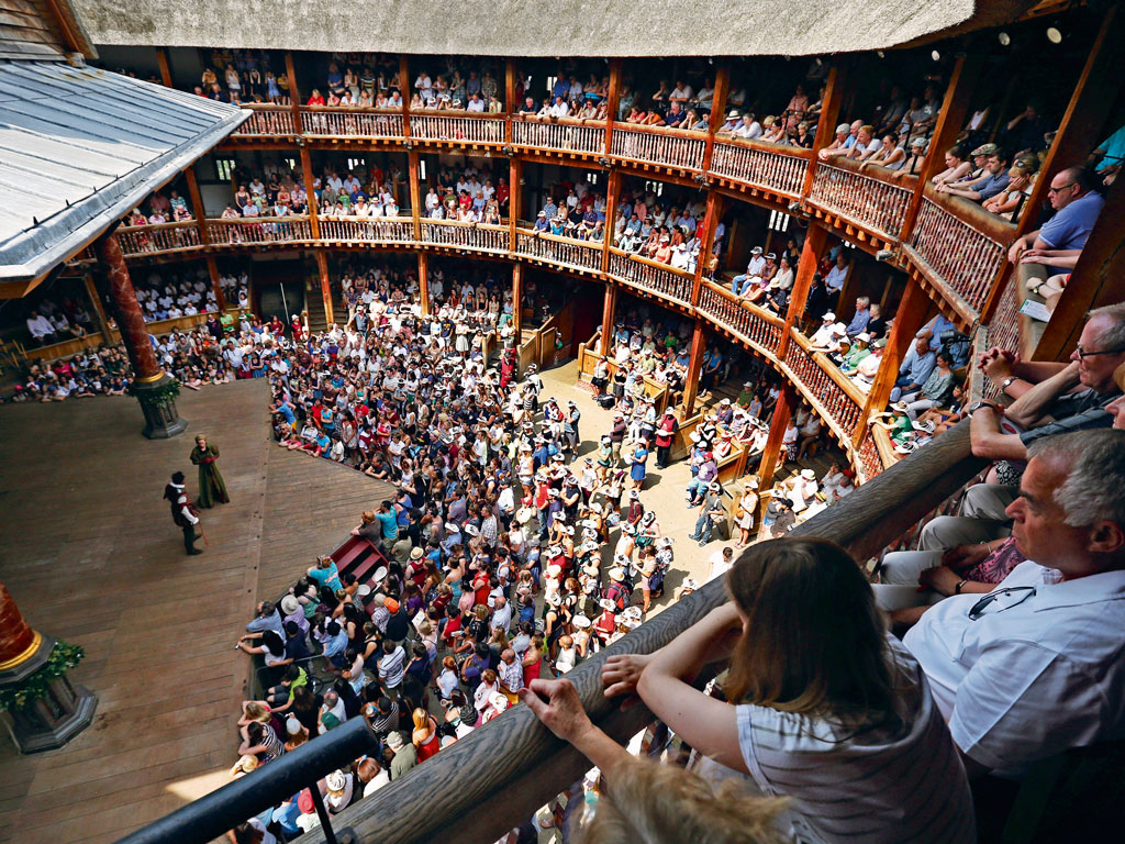 The open-air theatre's pits and balconies teeming with tourists and theatre-lovers, recreate the magic of a bygone era. Photo by: Oli Scarff/Staff/Getty Images