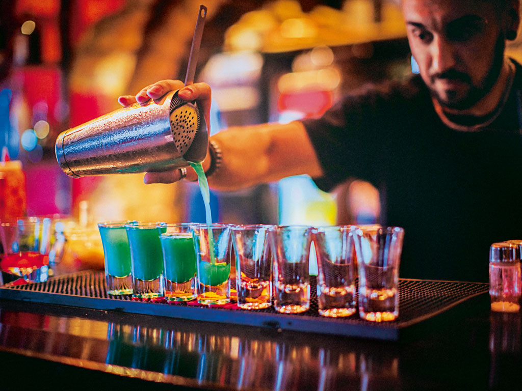 The bars on this list are an eclectic assortment, from one which offers a serial killer-inspired cocktail to another that has hidden passages. Photo by Gruizza/iStock.