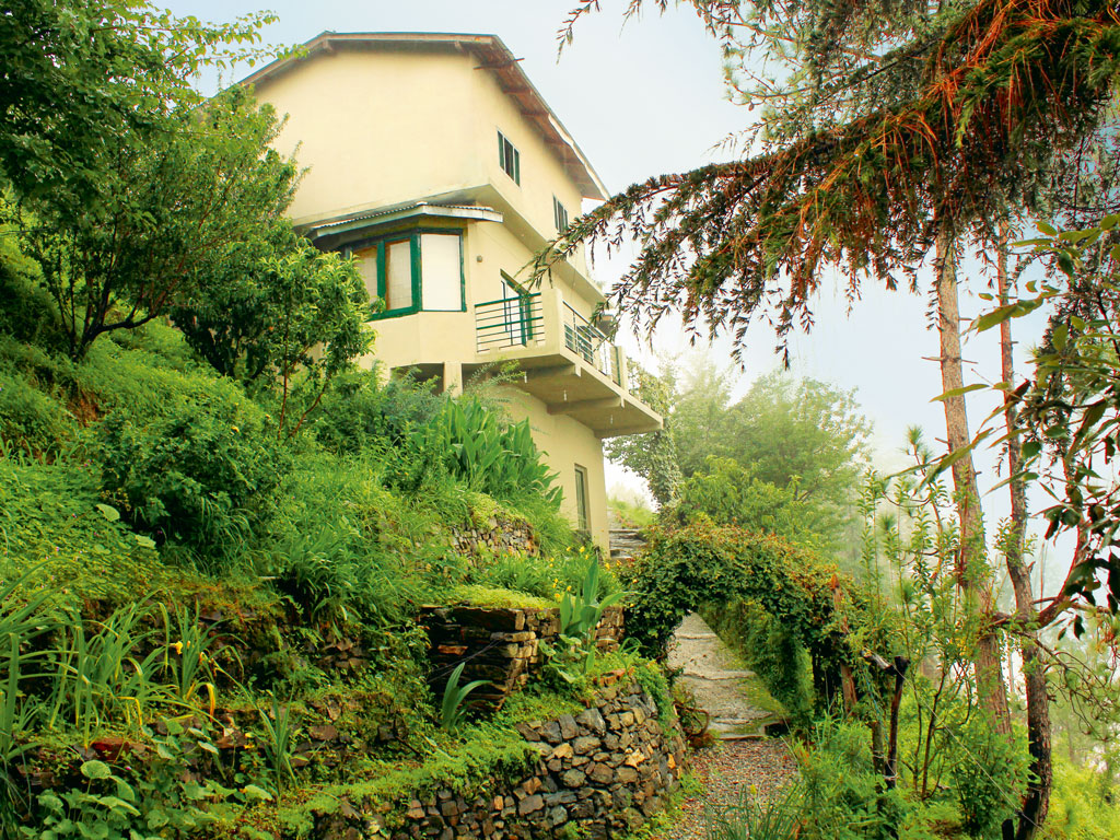 The Writers' Cottage at V Resorts Ramgarh offers much-sought-after solitude. Photo courtesy: V Resorts
